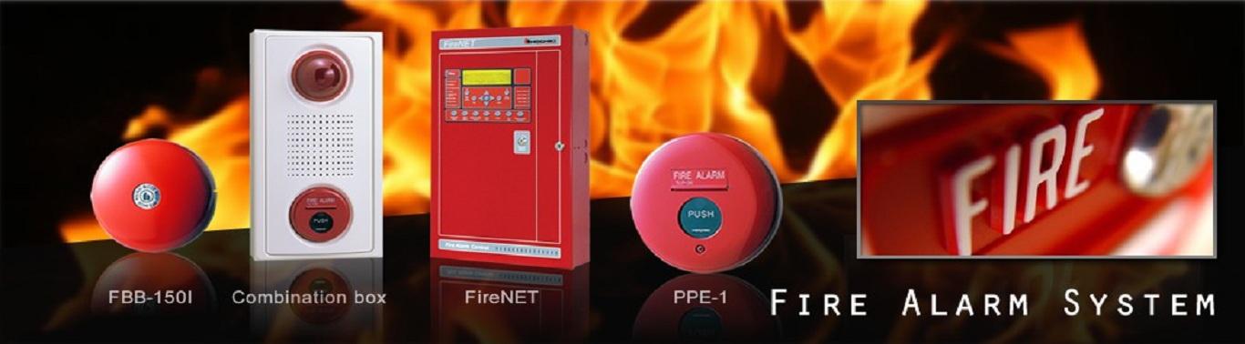 thiết bị báo cháy